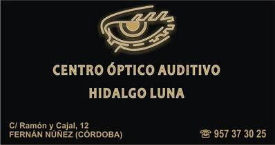 Centro Óptico Auditivo Hidalgo Luna