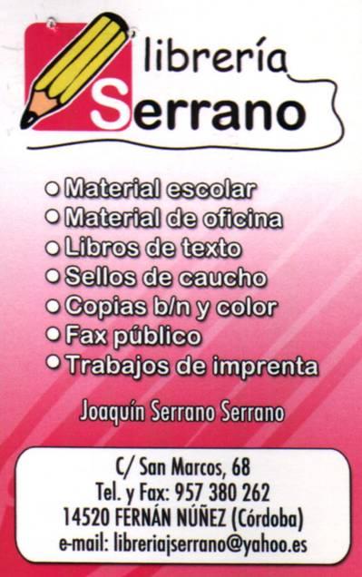 Librería Serrano