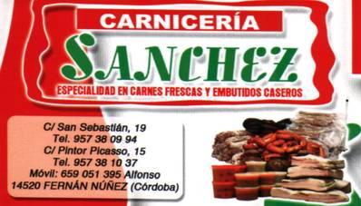 Productos Cárnicos Sánchez
