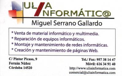 Ulía informática