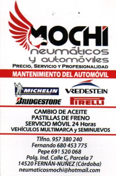 Mochi Neumáticos y Automóviles