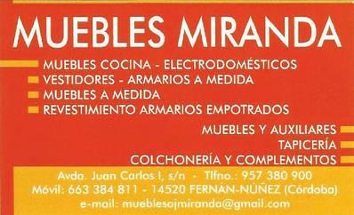 Muebles Miranda