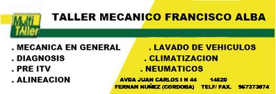 Taller Mecánico Francisco Alba Morales
