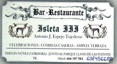 Bar Isleta III