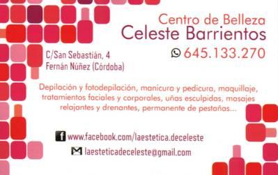 Centro de Belleza Celeste Barrientos