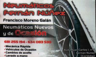 Neumáticos Fernán-Núñez