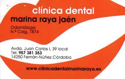 Clínica Dental Marina Raya