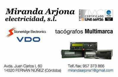Miranda Arjona Electricidad SL