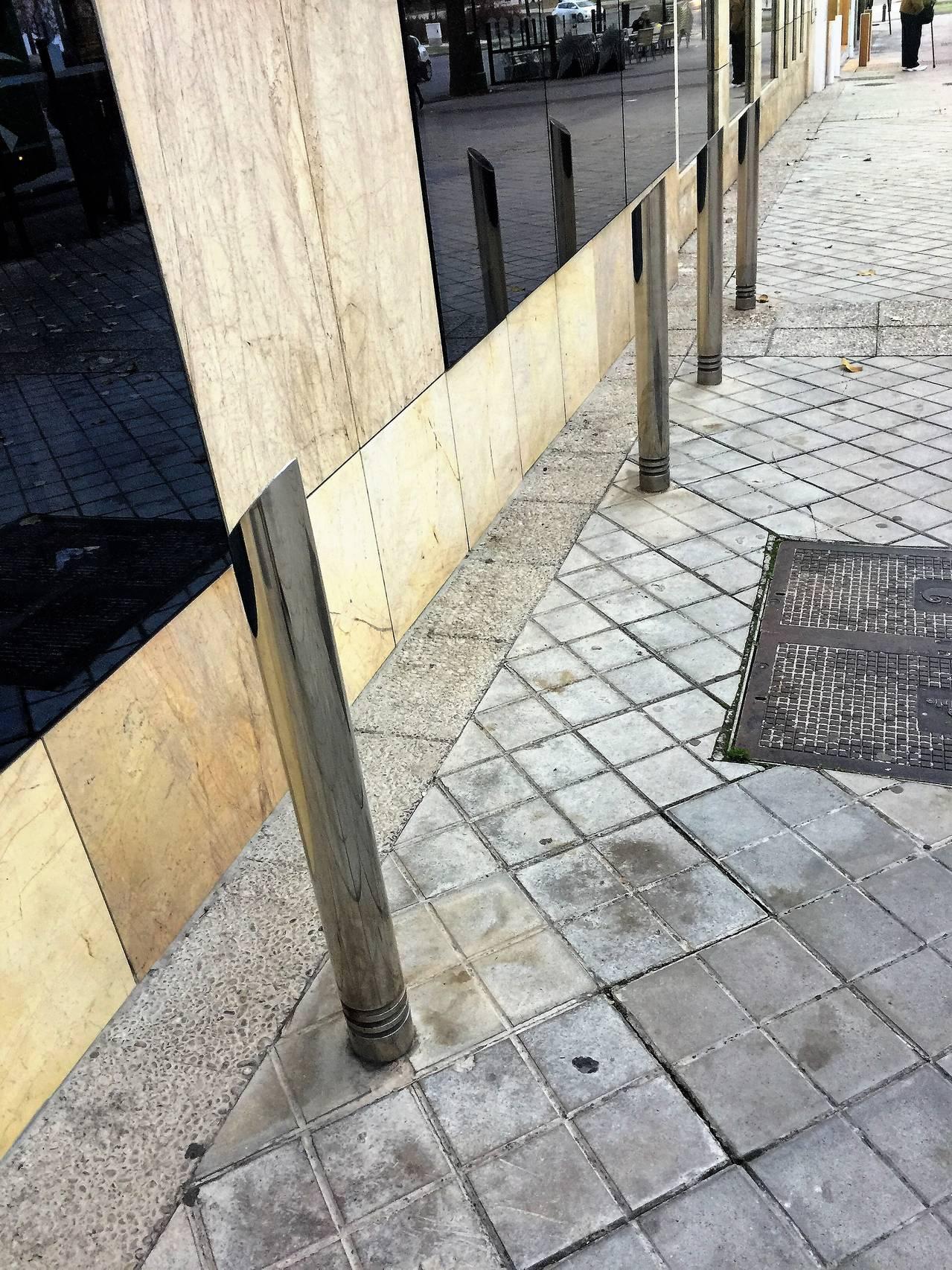 Mobiliario urbano for Mobiliario urbano tipos