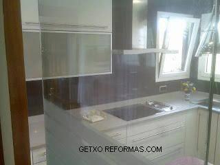 puerta cristal cocina