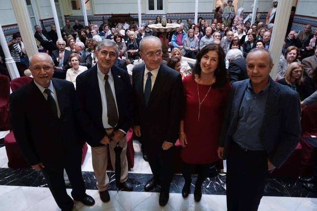 Reconocimiento a los Fundadores del Ateneo de Málaga