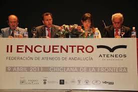 II Encuentro de Ateneos de Andalucía en Chiclana.