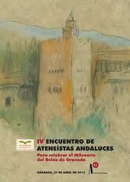 IV Encuentro Ateneos de Andalucía 2013.