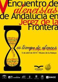 V Encuentro de los Ateneos de Andalucía.