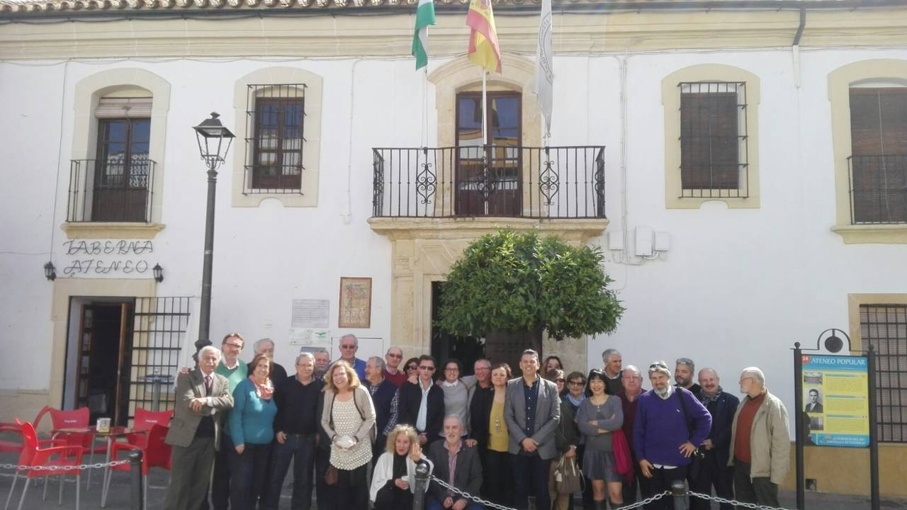 """Asamblea general y extraordinaria de la Federación """"Ateneos de Andalucía"""""""