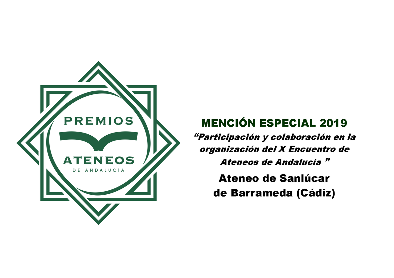 Andalusian Ateneos Awards 2019