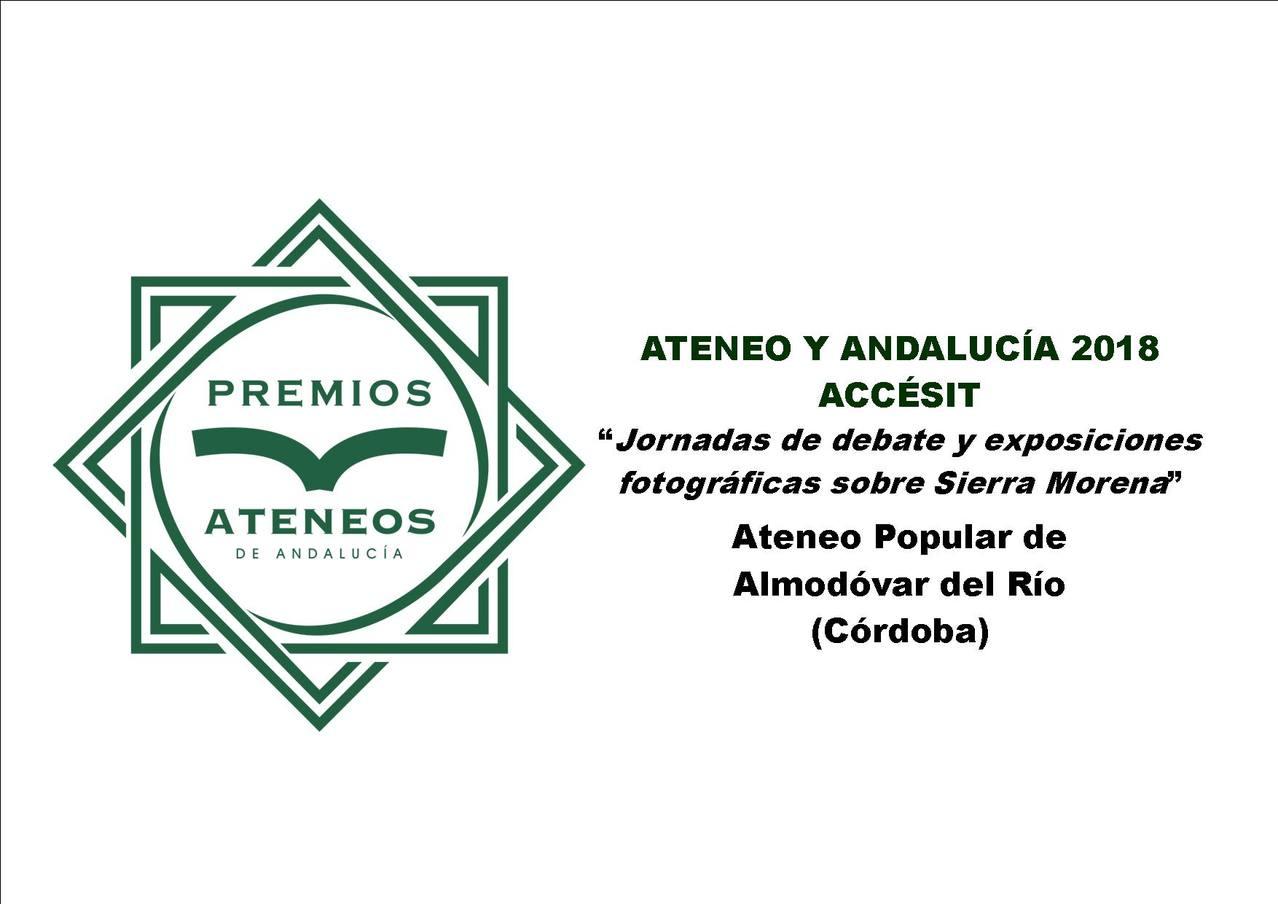 Premios Ateneos de Andalucía 2018