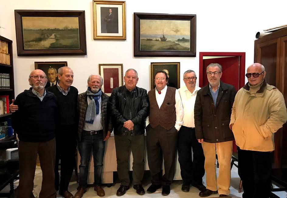 El Presidente de la Federación Ateneos de Andalucía ha visitado el Ateneo de Sanlúcar de Barrameda.