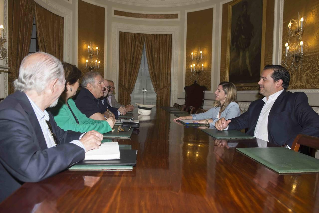 La Diputación de Cádiz y la Federación Ateneos de Andalucía establecen nuevas vías de colaboración.