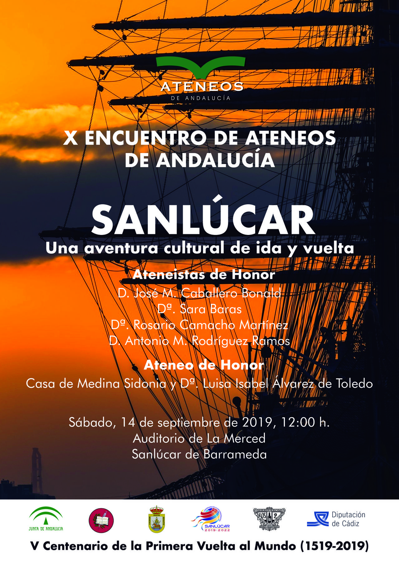 X Encounter Athenaeums of Andalusia in Sanlúcar de Barrameda, Cádiz