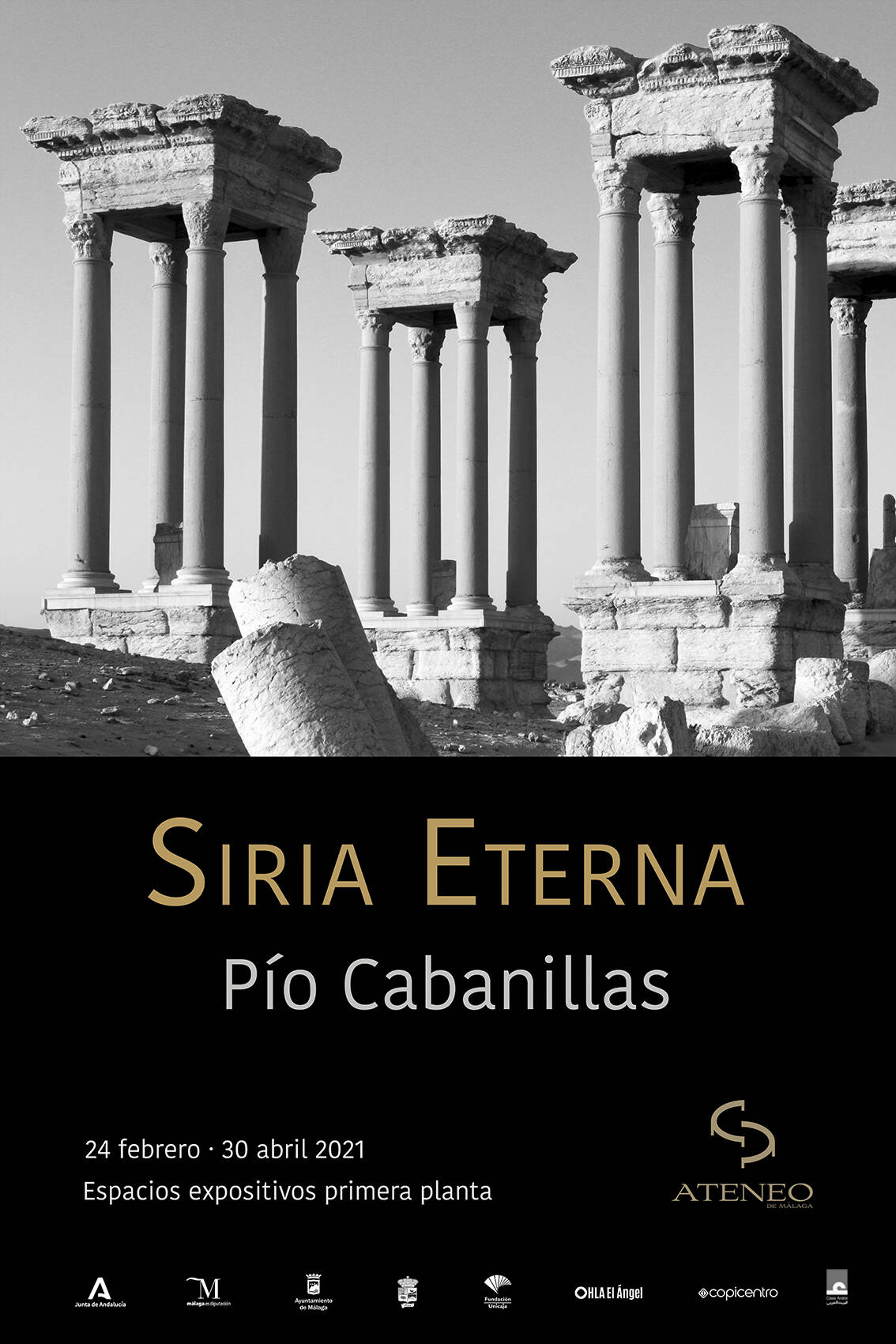 Opening of the exhibition SIRIA ETERNA, by Pío Cabanillas