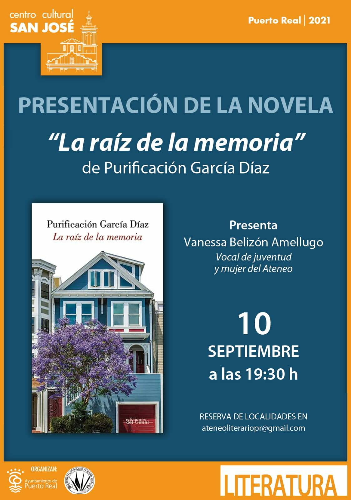 """Presentation of the novel: """"The root of memory"""""""