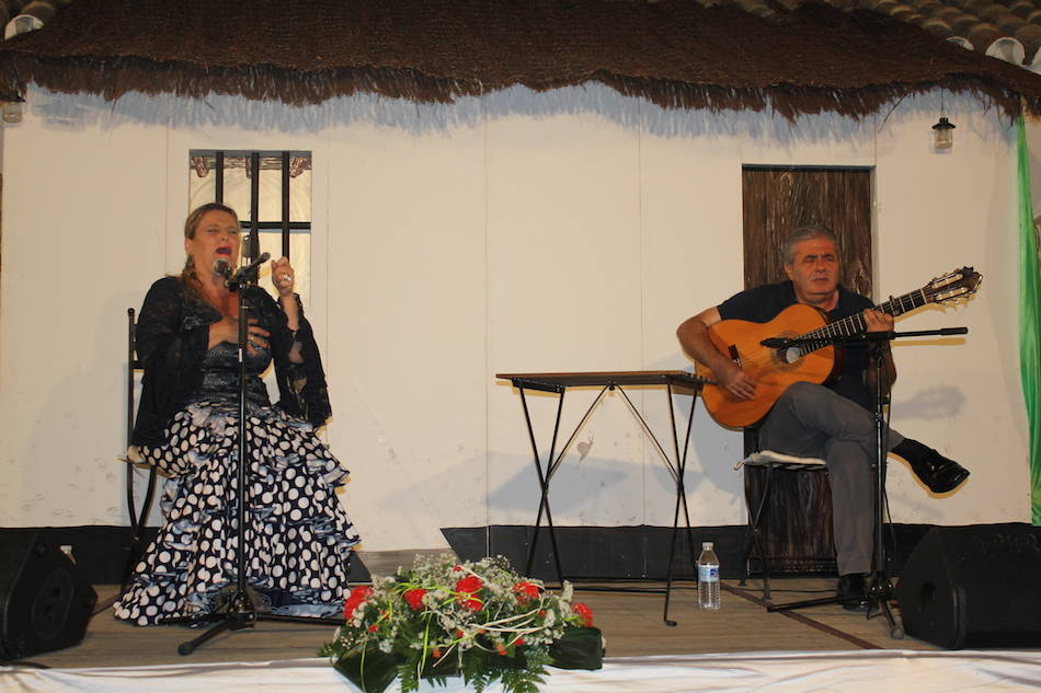 El Cuervo celebra la final del concurso de cante flamenco dedicado al mítico cantaor 'Juaniquín'