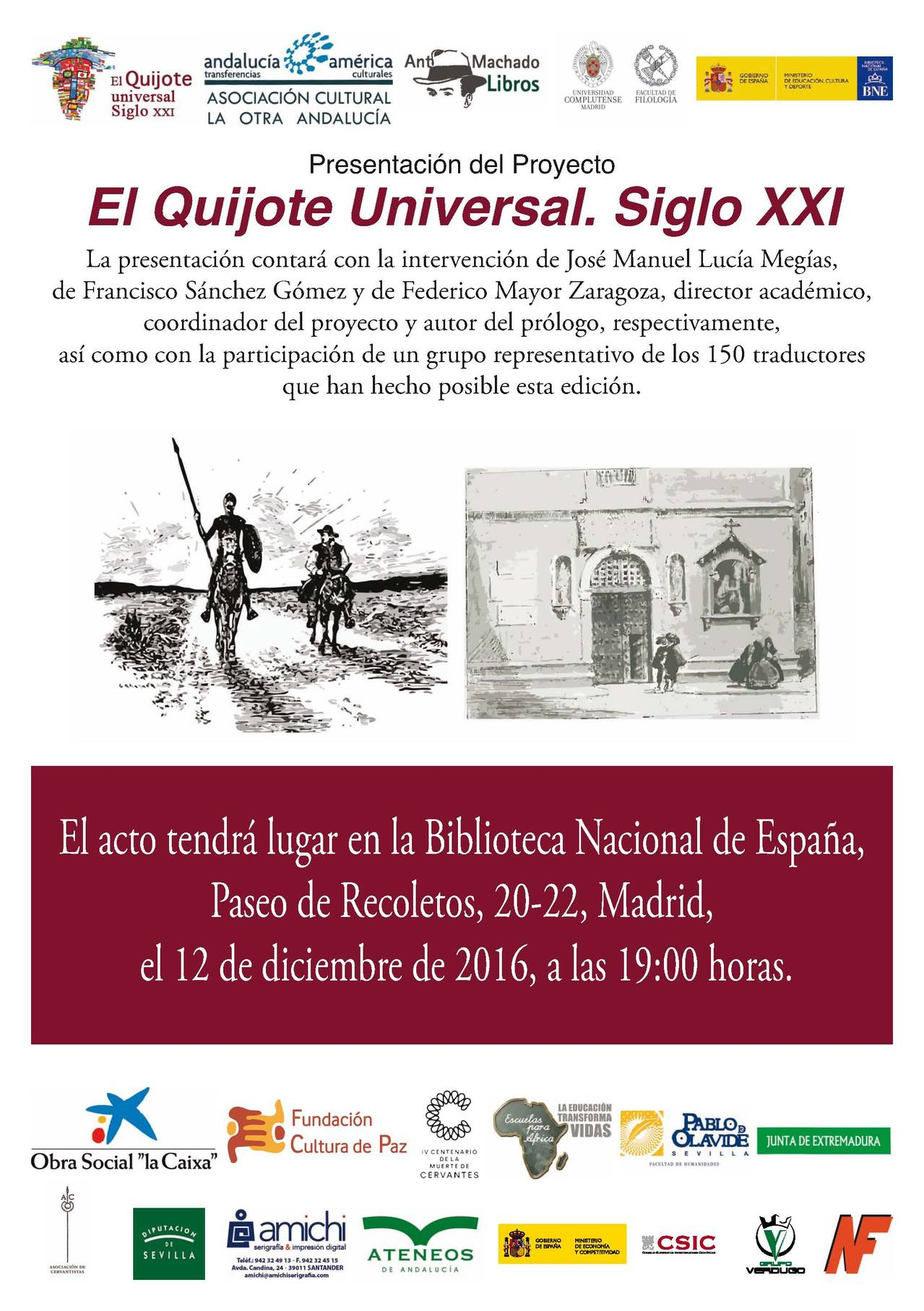 El Quijote universal. Siglo XXI