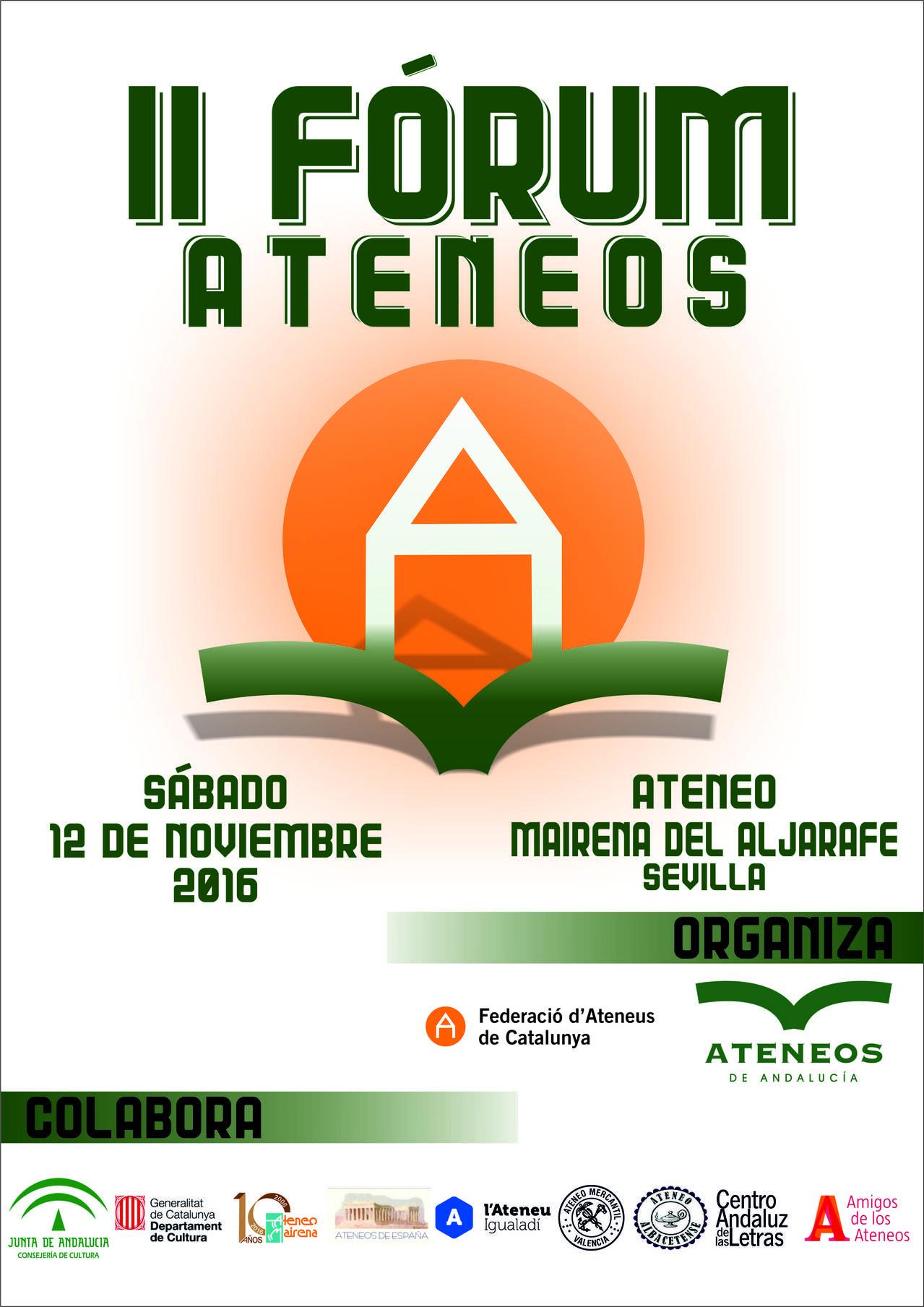 II FORO 2016 Ateneus