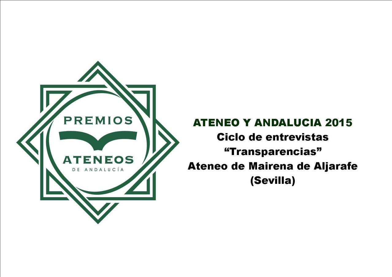 Andalusia 2015 Ateneos Awards