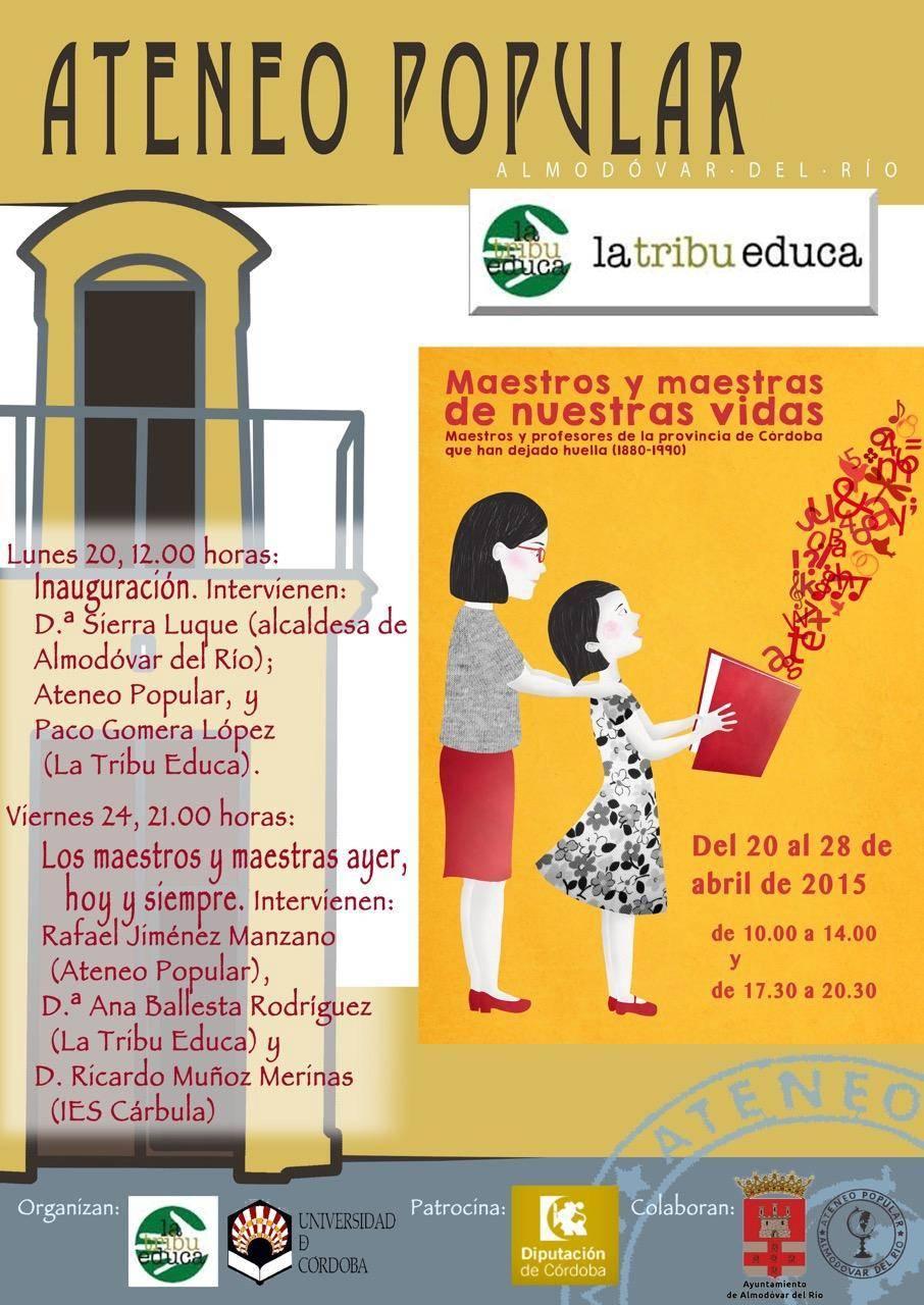 """Exposición """"Maestros y Maestras de Nuestras Vidas"""""""