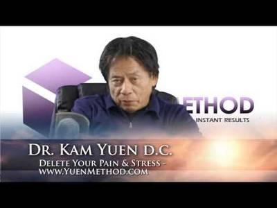 Eliminar el dolor y el estrés - Dr. Kam Yuen DC