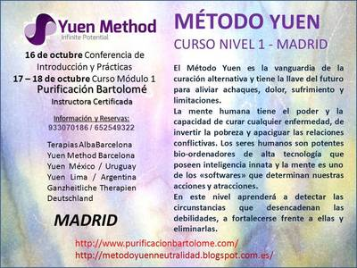 CURSO NIVEL 1 EN MADRID