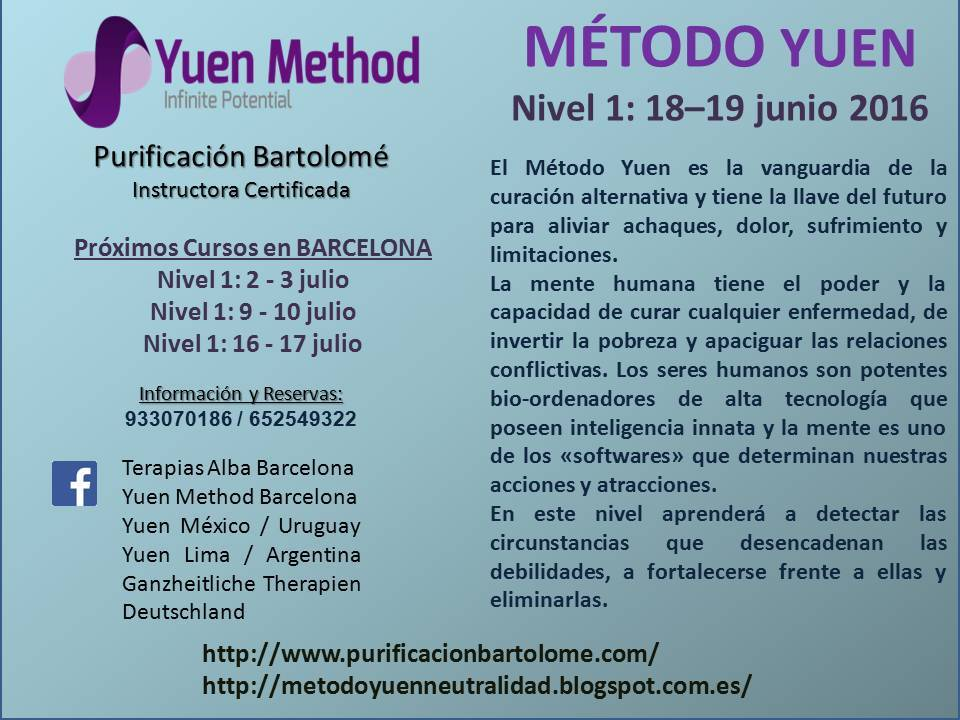 Next Level 1 course in Barcelona
