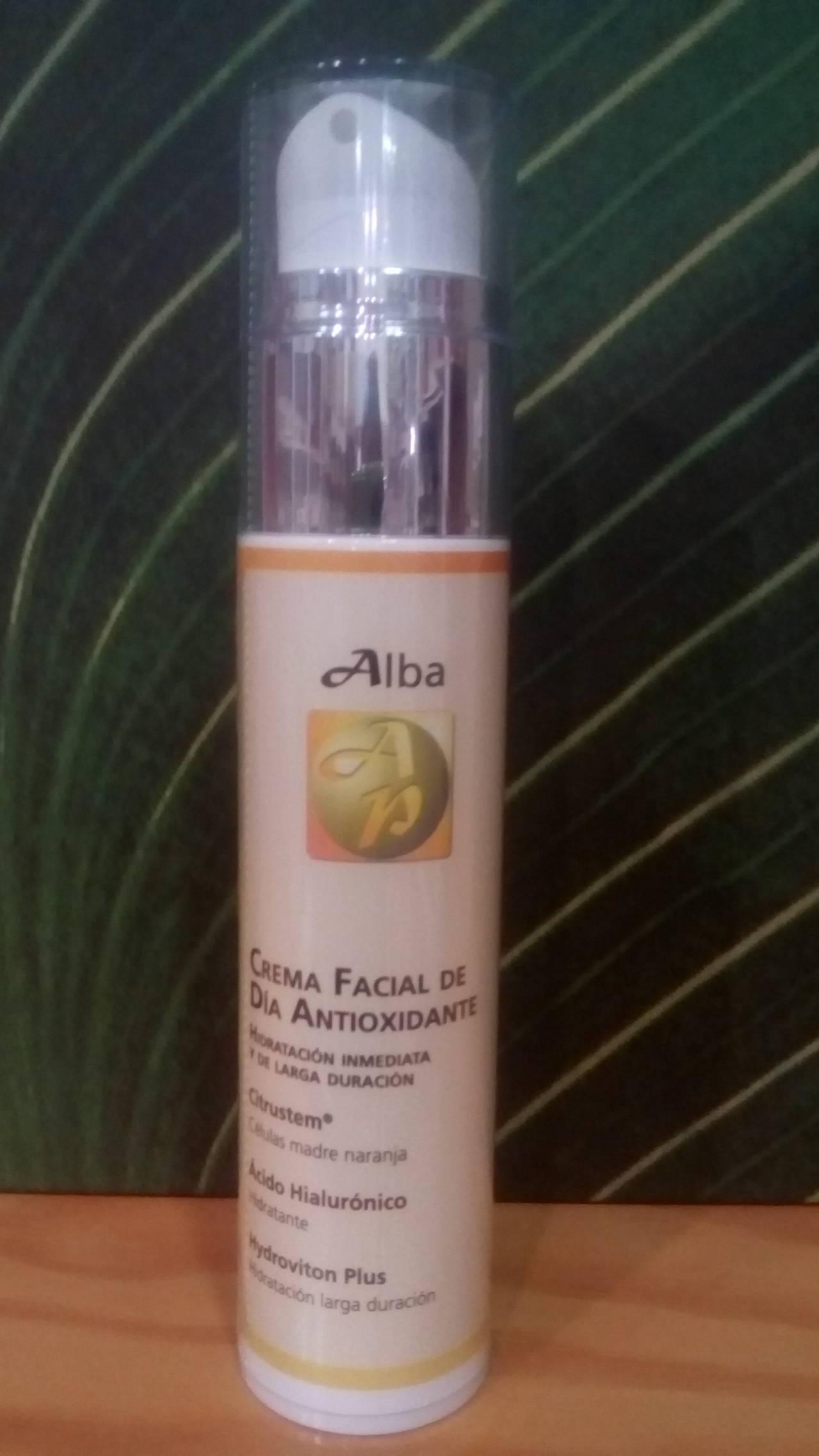 Crema Facial Antioxidante