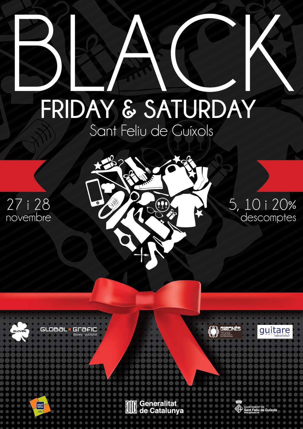 Black Friday & Saturday