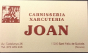 Carnisseria Joan