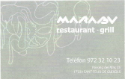 Restaurant Marabú