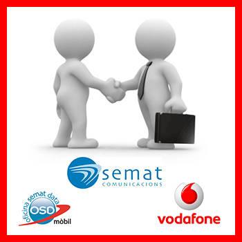 Forma part de la nostra Cartera Vodafone Empreses