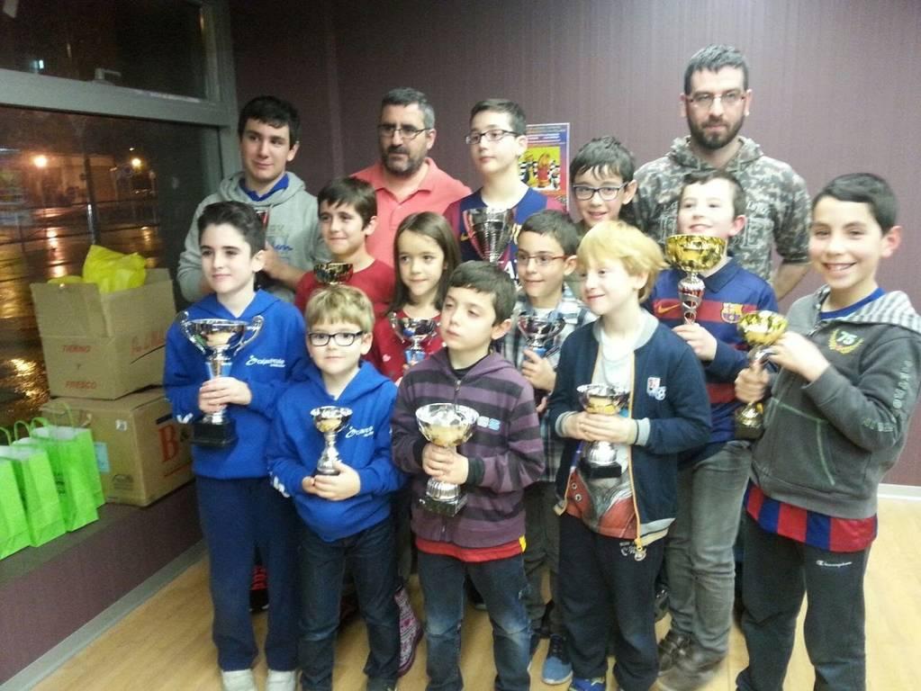 I Torneo de ajedrez infantil Peña Barcelonista Castellana