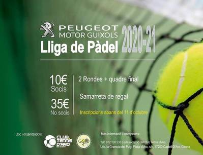 Padel League 2020/2021