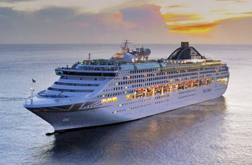 Excursiones crucero P&O OCEANA