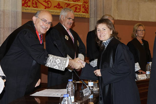 Imposició de Toga pel President del Tribunal Superior de Jústicia de Catalunya (2015)