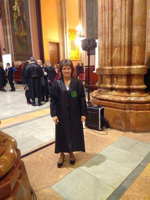 Imposició Toga 2015. Tribunal Superior de Justícia de Catalunya.