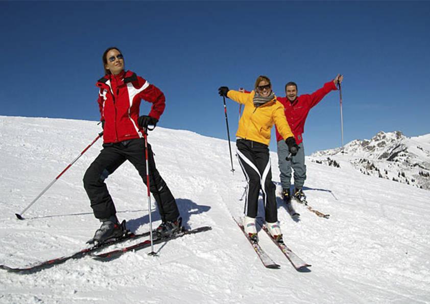 Esquiada Ekke a Port Ainé