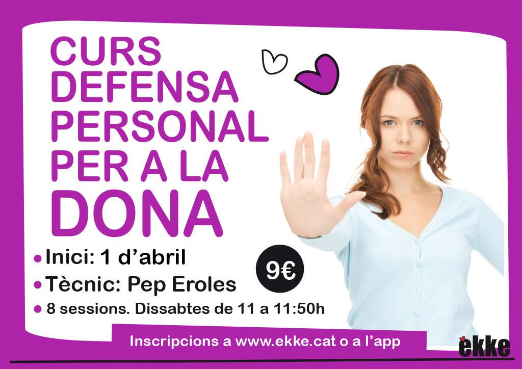 Curs de defensa personal per a dones