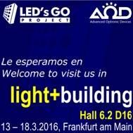 Dia 6 a # lb16. Última oportunitat per visitar-nos al nostre estand Hall 6.2 D16 i veure les novetats #lLED
