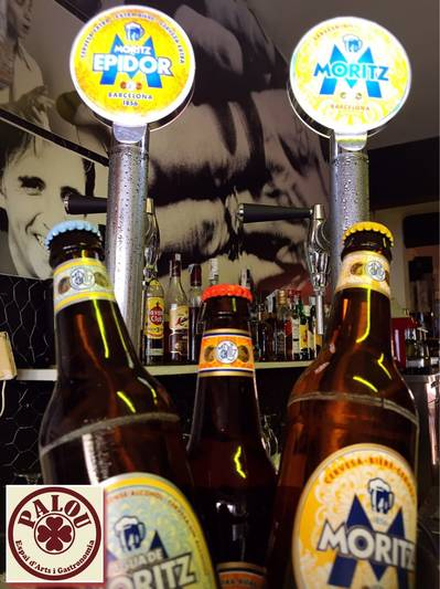 "MORITZ BEER IN THE ""PALOU"" (RIBES)"