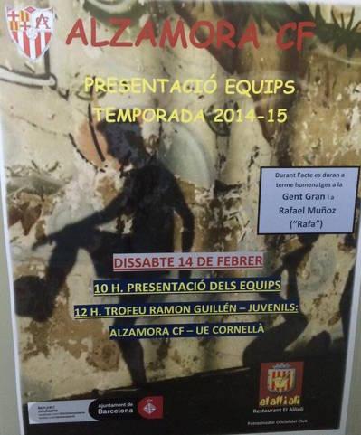 Presentación Temporada 2014-2015