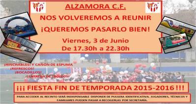 Fiesta Fin de Temporada 2015-2016